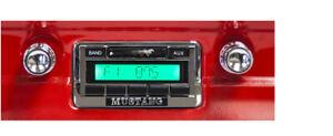 Ford 1964 64 1965 65 1966 66 Mustang USA 230 Radio Custom MP3 AM/FM AUX