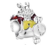 Disneys Alice In Wonderland White Rabbit Charm For European Bracelet