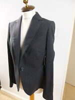 FURTHER REDUCED BNWT Pure Collection grey wool stretch blazer / jacket size 12