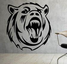 Grizzly Bear Wall Decal Vinyl Sticker Wild Animals Interior Art Decor (7bgr1)