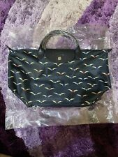 ON HAND Authentic Longchamp Le Pliage Cruise Chevaux Ailes Tote Bag Medium