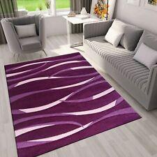 Teppich in Lila Pink Wellen Muster