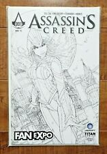 FAN EXPO EXCLUSIVE Assassin's Creed 1: Trial By Fire Black/ White SKETCH VARIANT