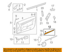 MERCEDES OEM 10-13 E350-Door Interior Trim Panel-Upper Right 20772022222A02