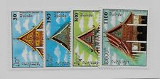 LAOS Sc 1170-3 NH issue of 1994 - PAGODAS