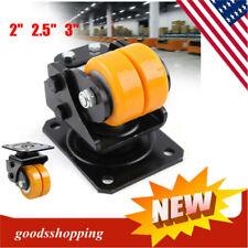 2253 Heavy Duty Swivel Plate Caster Wheel Polyurethane Suspension Wheel