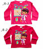 My little Pony,Hello Kitty,Mia,Sofia, Girls Long Sleeves T.Shirt Top,3 4 6 8 YRS