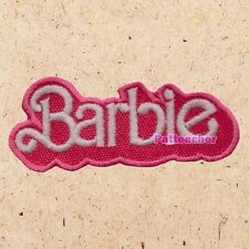 Barbie 80's Logo Patch Fashion Doll Ken Toy Story Barbara Roberts Embroidered
