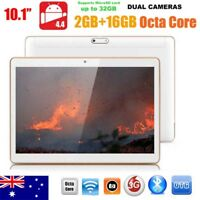 10 inch HD Dual SIM Camera 3G Octa Core Tablet PC Android 4.4 2Gb+16GB Bluetooth