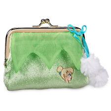 Disney Store Tinkerbell Fairy Mini Coin Purse Girls Womens Gift NWT