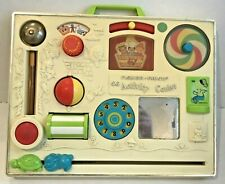 Vintage Fisher Price Activity Center Busy Box #134 Baby Crib Toy Infant 6-12 Mos
