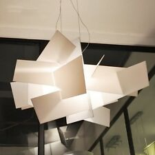 White Big Bang Suspension Ceiling Light Pendant Lamp Acrylic Fixture Chandelier