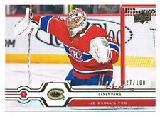2019-20 UPPER DECK UD EXCLUSIVES PARALLEL #/100 Pick From List !!