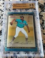 DONTRELLE WILLIS 2002 Bowman Chrome Rookie Card RC BGS 9.5 Marlins WS Champs
