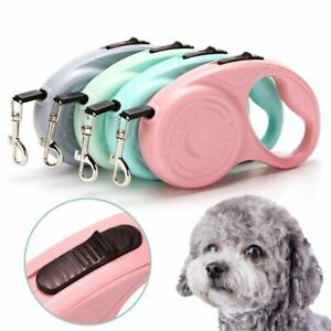 Anti-twist Clip Dog Rope Leash Leads Long Strong Pet Cord Retractable Leashes