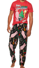 A Christmas Story Movie 2-Pc Sleep Set Lounge Pants T-Shirt Men's Sizes S-XL New