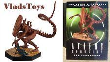 Eaglemoss 1/16 Alien & Predator Red Xenomorph Aliens Genocide Comic Issue 15