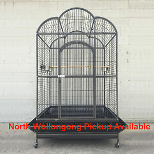 XXX-Large 200cm Quality Macaw Parrot Aviary Bird Cage On Wheels A32