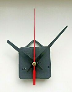 Quartz Clock Movement - Sweeping Hands - AA Battery Powered - New - Mechanism UK