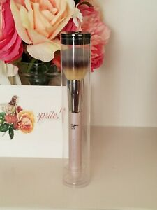 IT Cosmetics Heavenly Luxe Buffing Foundation Brush Rose Gold  New & Sealed