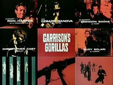GARRISON'S GORILLAS TV Complete WWII Series+the Unaired Pilot~Ron Harper 14 DVDs