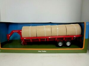 1/20 Scale Big Country Hay Trailer w/Hay Bales Toy