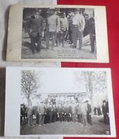 "WWI Era Post Cards German Reunion Photo, War Council ""Same Game"" August 1916!!!"