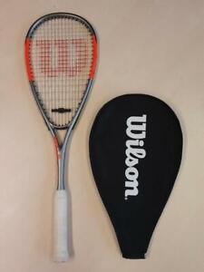 Wilson Hammer Team Squash Racket + Cover RRP £90 - SHOP SAMPLE