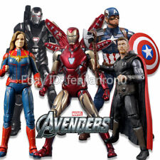 Marvel Avengers Black Panther Spider man iron man 7'' Action Figures NO BOX Toys