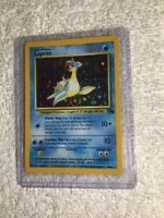 LAPRAS - 10/62 - Fossil - Holo - Pokemon Card - EXC / NEAR MINT