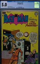 BATMAN #77 - CGC-5.0, OW-W