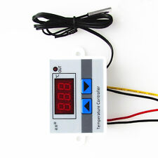 1PCS 220V Digital LED Temperature Controller 10A Thermostat Control Switch Probe