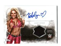 WWE Natalya 2015 Topps Undisputed Autograph Relic Card