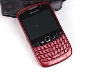 BlackBerry Curve 8530 - Black/red (Telus) Smartphone