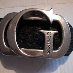 GUESS Belt G buckle