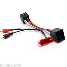 CT20AU10 AUDI A4 1994 - 2005 MINI ISO HALF AMPLIFIED SYSTEMS CAR HARNESS ADAPTER
