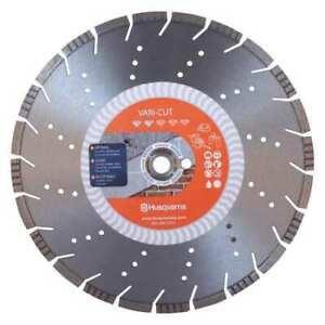 "Husqvarna 8"" Excel Purple Soff Cut Green Concrete Diamond Blade 450 750 1500 Saw"