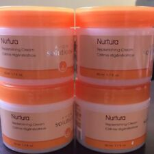 Lot Of 4 Avon Solutions Nurtura Replenishing Cream Very nice product, New