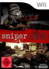 Nintendo Wii Spiel - Sniper Elite (FSK18)(PAL) 11338925