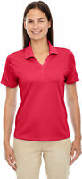 Extreme Women's Wicking Performance Short Sleeve Jersey Polo Shirt. 75106