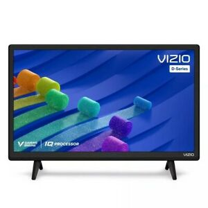 "VIZIO D24F-G1 24"" LED LCD Full HD Smart TV - Black New Excellent Product"