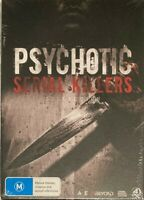 Psychotic Serial Killers Collections (DVD, 2017, 4-Disc Box Set)  NEW & SEALED