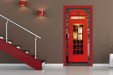 DOOR WALLPAPER MURAL LONDON PHOTO WALL PAPER POSTER LIVING BED ROOM MURALS NEW