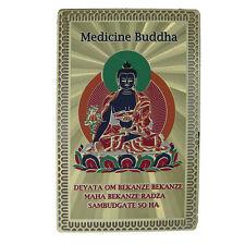 Feng Shui Medicine Buddha Health Talisman Card