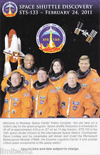 STS-133 Envelope with Insert PLUS BONUSES - FREE DELIVERY IN USA