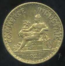 FRANCE  FRANCIA  1 franc  CHAMBRE DE COMMERCE 1922  ( SUP )
