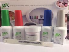 SNS Signature Nail System: 1oz Full Kit. New & Pre-bonded NATURAL SET