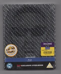 MEN IN BLACK 3 - HMV UK BLU RAY STEELBOOK - NEW & SEALED - MIB3