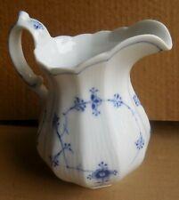 """Royal Copenhagen 6"""" Blue & White Floral Pitcher 1/354"""