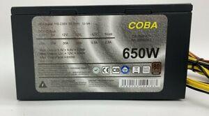Inter-Tech CobaPower CS-650it 82+ ATX Netzteil 650 Watt 80+